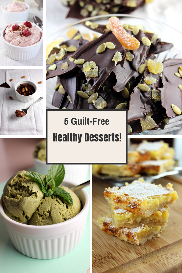 5 Healthy Dessert Recipes to Satisfy your Sweet Tooth