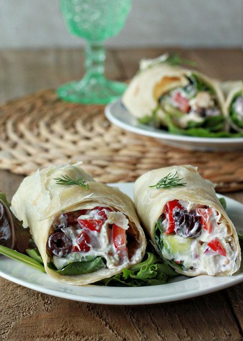 Greek-Salad-Sandwich-Wraps-with-Optional-Chicken