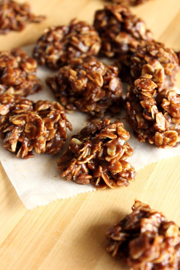 Mini No Bake Oatmeal Cookies