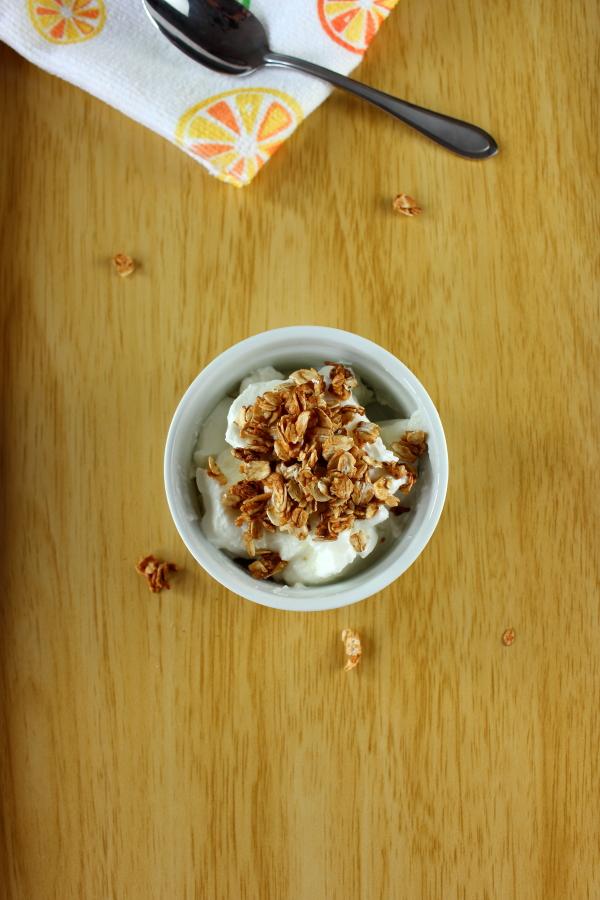 Honey Granola Parfaits