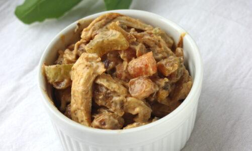 Cajun Chicken Salad with Pistachios
