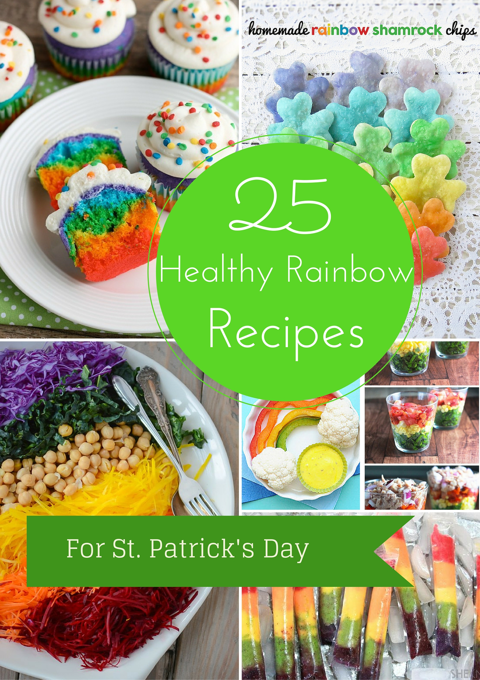 25 Healthy Rainbow Colored Foods for Your St. Patrick's Day