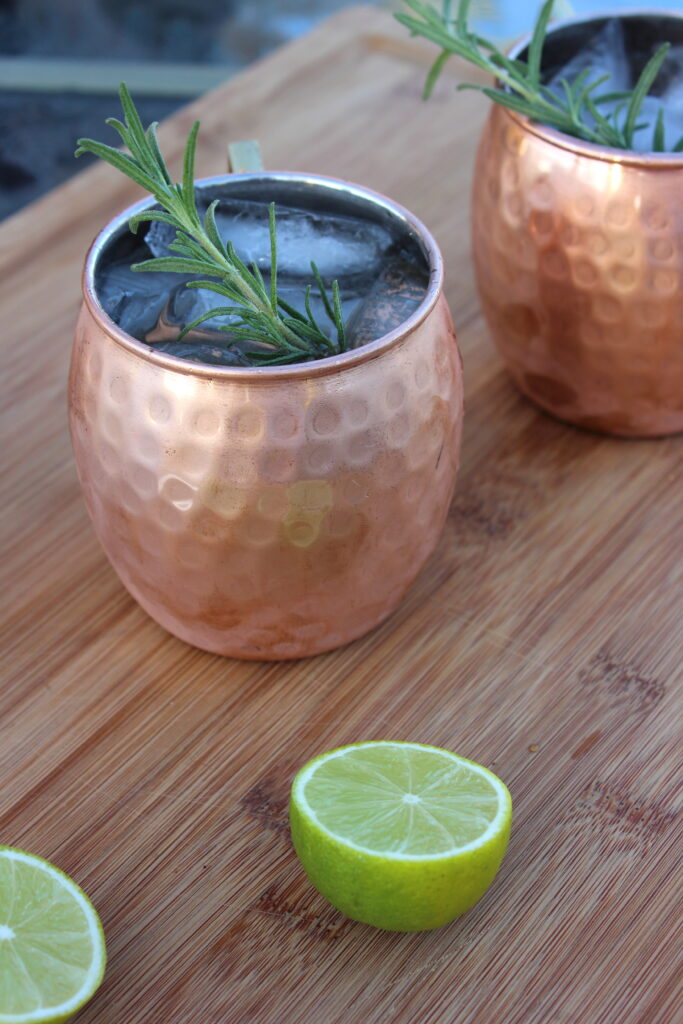 Rosemary Moscow Mules
