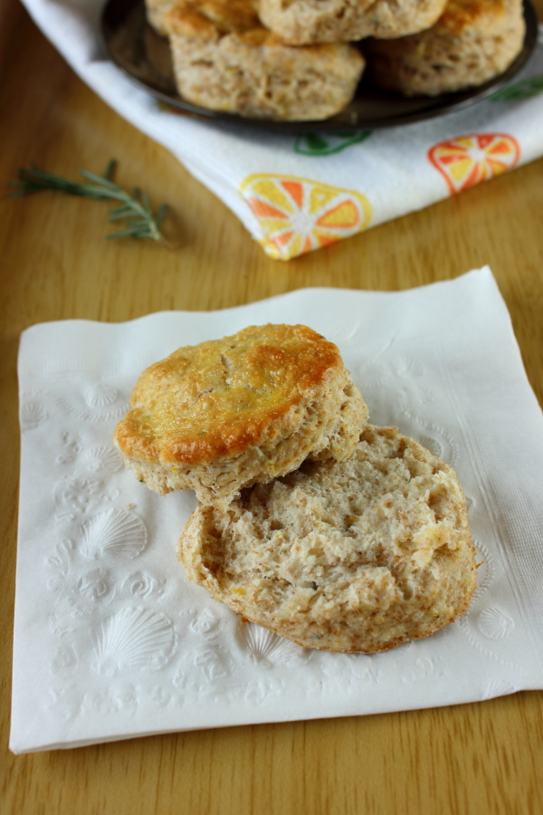 Rosemary Lemon Biscuits